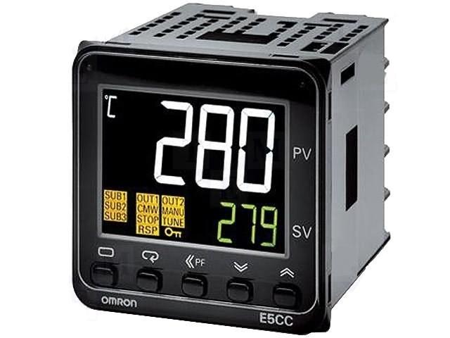 E5CC Sıcaklık Kontrol Cihazı